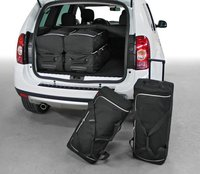 Passform Kofferset Dacia Duster 3 Trolleys / 3 Reisetaschen